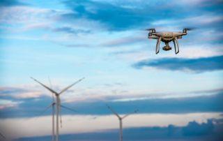 Zephyros Drone bij windturbines
